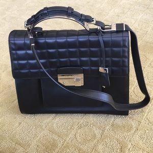 Michael Kors collection black handbag